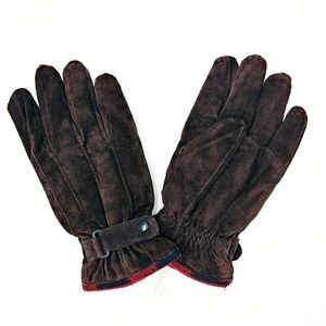 Schuman & Sullivan NWOT Vintage Men's Suede Gloves